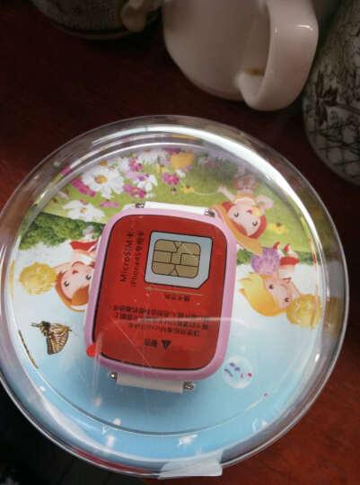 尚想A1儿童智能触摸屏电话手表儿童学生插卡电话手表手机兼容苹果三星防水手表 粉红色 晒单图