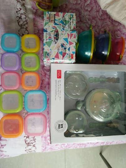 好伊贝(HOY BELL) 婴儿辅食盒零食盒宝宝奶粉盒便携保鲜冷藏盒密封盒收纳盒 60ML-6个装带底盘 晒单图