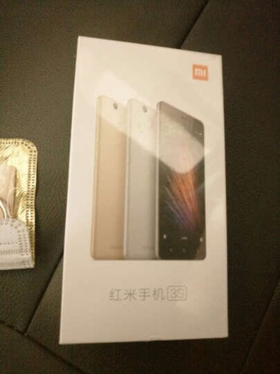小米 红米3S 全网通4G智能手机 移动联通电信4G手机 三网通用 双卡 经典金色 全网通版(2G+16G) 晒单图