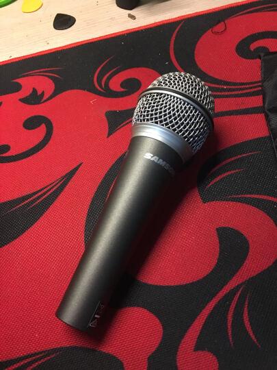 【笛美】samson 手持动圈麦克风 K歌麦舞台表演 人声乐器拾音话筒 Q6 单支装 晒单图