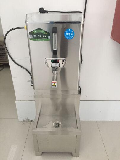 三鼎  全自动电热开水器商用节能开水饮水机不锈钢烧水器热水炉开水桶煮水柜 购机送VIP卡 不发货 晒单图