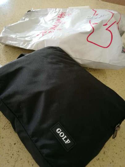 高尔夫GOLF升级版可折叠防水双肩书包大容量14/15寸电脑背包便携户外包 黑色15英寸防水可折叠6732 晒单图