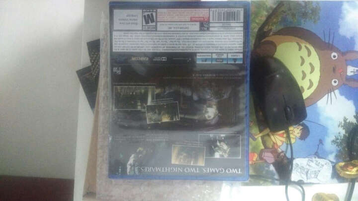 索尼 PS4正版游戏光盘 角色扮演游戏光盘 生化危机2启示录港版中文 晒单图