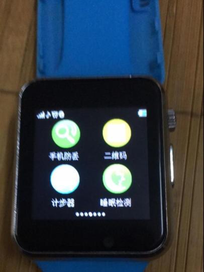 【心率检测】伟森老人定位手表手机老年智能电话手表触屏插卡GPS心率监测运动健康防丢手环 老人定制版 金红(心率检测+触摸屏+智能定位) 晒单图