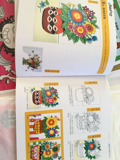 儿童画进阶学堂:水彩笔卷(增补版) 晒单图