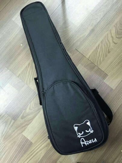 阿德拉(Adela) 尤克里里21寸23寸26寸乌克丽丽小吉它民谣吉他木吉他初学乐器 桃花芯木 喵S 哑光单板 21寸 电箱款 晒单图