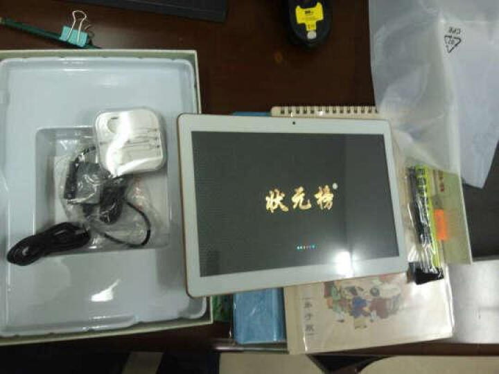 状元榜V10学习机2G+32G学生平板电脑 电子词典小学初中高中同步点读机 小学 银色增强版(2G+32G) 晒单图