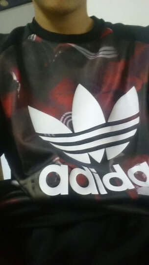 Adidas阿迪达斯男装卫衣春季新款三叶草运动舒适休闲套头衫针织衫B48972 2017春季新款BP8912 L 晒单图