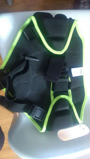 PROPRO 青少年儿童外穿护臀防摔裤 多功能轮滑板滑雪滑冰护臀裤加厚耐磨 黑色 均码(腰围58-78CM) 晒单图