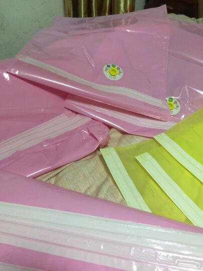格林净味真空压缩袋收纳袋棉被子衣服抽气袋套装 3特大3中2小2手卷1手泵 晒单图