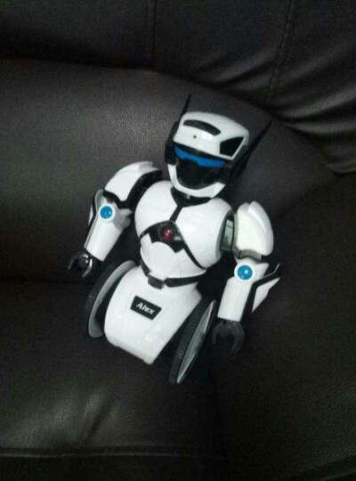 新款升级版艾力克智能机器人可对战自动平衡智能玩具会唱歌跳舞对话负重白色早教互动生日礼物 晒单图