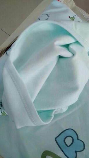 米奇皇子 婴儿抱被宝宝包被新生儿双层抱巾裹布 双层棉布-大小熊蓝色(90*90cm) 晒单图
