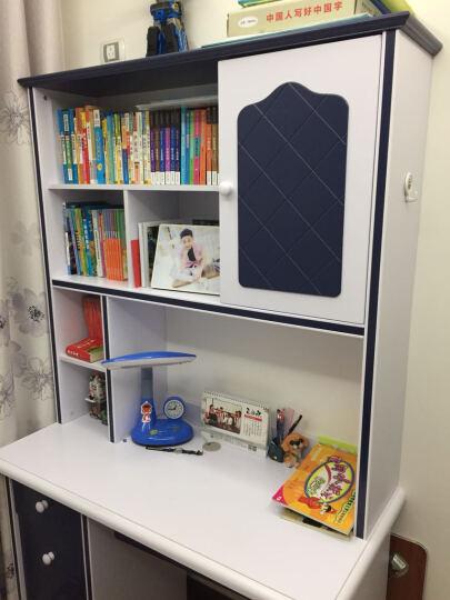 七彩元素儿童学习书桌书柜组合 欧式转角直角写字台357S 直角书桌(不含椅子) 晒单图