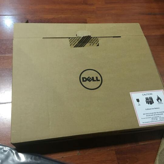 戴尔DELL成就5568-2525 15.6英寸i5七代轻薄商用高清手提游戏笔记本电脑 15ER-4525 4725黑色 i5七代8G内存250G固态500移动硬盘 定制版 晒单图