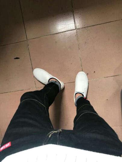 Jeck Wolson 牛仔裤男2017春季男士修身弹力九分裤韩版小脚裤男装潮 深蓝色 29 晒单图