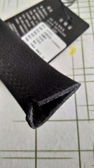 卓梵 阿玛尼皮带腰带男士真皮皮带腰带商务自动扣礼盒套装 603505黑色 晒单图