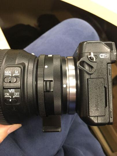 美科(MEIKE)MK-NF-E 微单转换环 索尼NEX/A微单转尼康F卡口单反镜头 晒单图