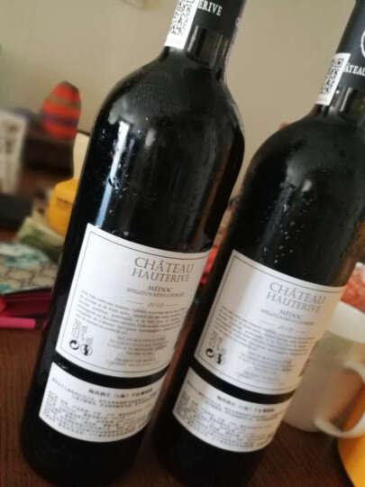 【拉蒙】法国进口红酒波尔多梅多克小产区AOC梅尚酒庄干红葡萄酒双支礼盒装 双支礼袋(礼袋装) 晒单图