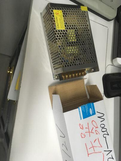 小体型长条铝壳开关电源12V60-400W变压器LED灯带灯箱电源监控器模组电源 12V16.5A 200W 晒单图