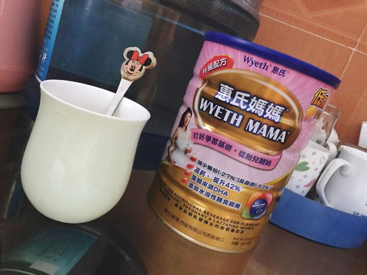 香港进口 惠氏Wyeth 港版惠氏 惠氏妈妈奶粉 900g 孕妇奶粉 1罐装 晒单图