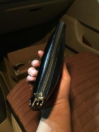 托比斯(TOBYS)男士手包牛皮手机包商务手拿包休闲手抓包大容量软皮钱包小手包潮 巧克力色 晒单图