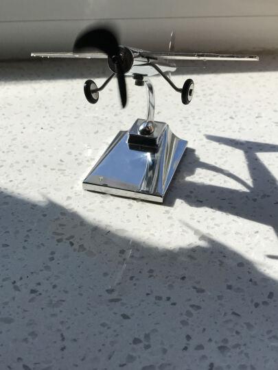 轩之梦 汽车摆件太阳能飞机饰品摆件车载创意摆件车内飞机模型饰品 晒单图