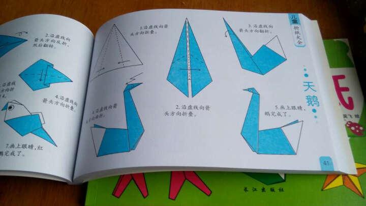 幼儿折纸大全(2册) 儿童快乐手工书 宝宝动手动脑潜能智力早教开发 儿童折纸大全 手工制作 晒单图