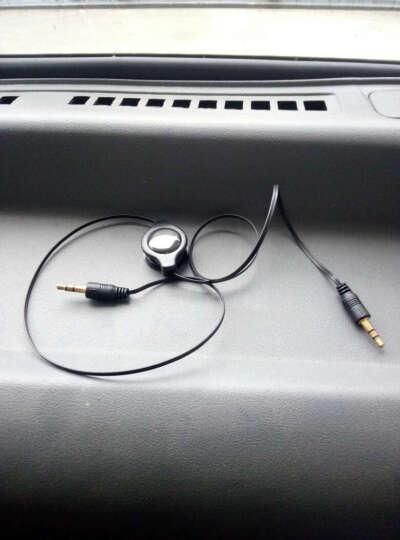 布鑫 汽车用品 伸缩式手机音频线 AUX IN数据连接线 车载音响MP3转接头 XRV专用(颜色随机发) 晒单图