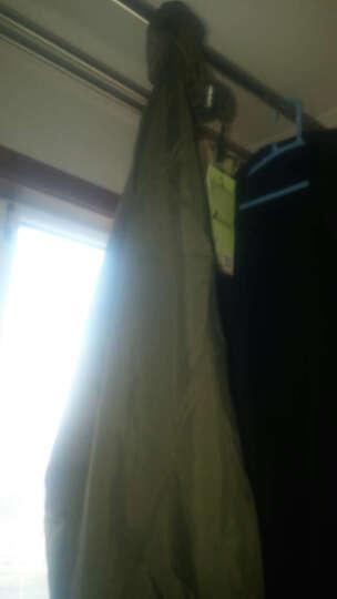 卡鲁森(clothin) 皮肤风衣 情侣户外运动双层皮肤衣轻薄透气徒步风衣 CD13006 女款湖蓝2XL码 晒单图