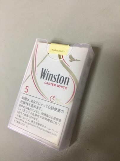 创意20支装薄透明塑料烟盒 整包软壳香菸盒 个性创意烟盒2个 晒单图