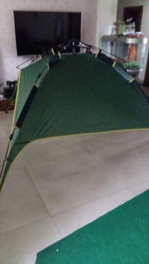 德国TAWA  全自动帐篷户外防雨野营双人双层免搭建3-4人野外露营帐篷套装 套餐1 晒单图