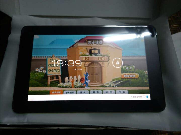 万利达学习机平板电脑Q3儿童小学初中高中学生同步点读智能 智能WIFI家教机+高速32G卡 +32G内存卡 晒单图