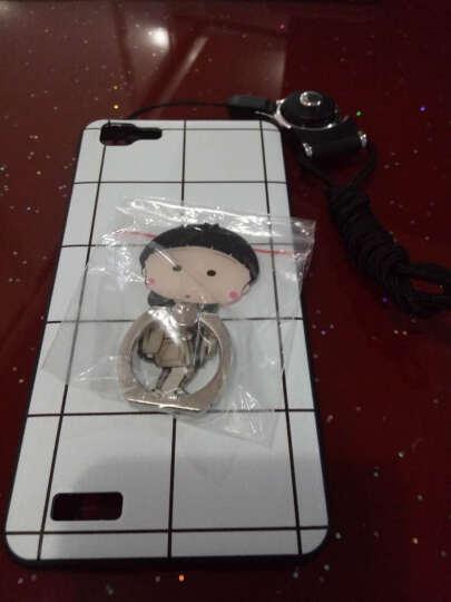 rrw 手机壳保护套硅胶创意个性挂绳男女款潮格子 适用于vivoy35/y35L/y35a y35 白格子+挂绳+丸子 晒单图