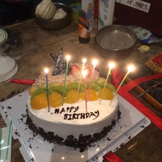 麦味美 生日蛋糕同城配送【多种款式】儿童蛋糕全国预订定制蛋糕 北京上海重庆深圳广州成都武汉 心型蛋糕(爱之旋律) 8寸 晒单图