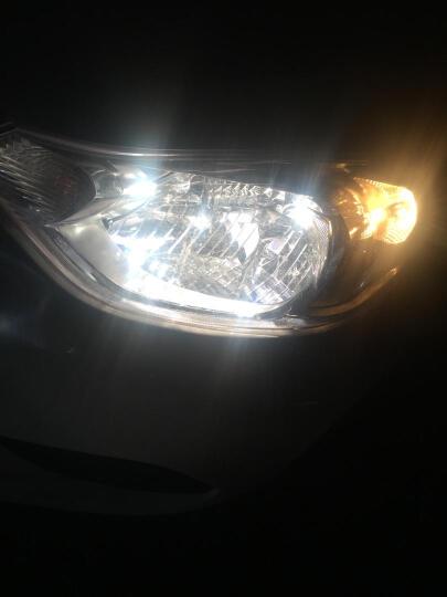 汽车前大灯灯泡卤素车灯 内充氙气高亮改装 雪佛兰 科鲁兹/赛欧 雾灯H8 超白光 55W 一对 晒单图