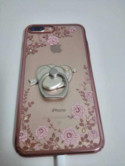 森的 手机支架创意金属水钻指环扣懒人支架防滑适用苹果6/6S/7plus安卓 水钻 (高杯) 晒单图