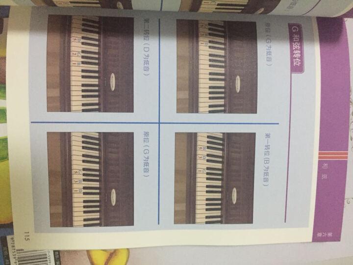 看图自学钢琴演奏:一看就懂的图解钢琴自学书(修订版) 晒单图