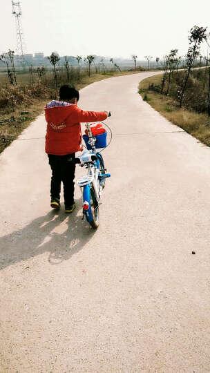 宝贝龙 小孩子儿童自行车知更鸟儿童折叠自行车学生小孩子12/16寸便携单车童车多省包邮 琦乐蓝色带辅助轮 16 晒单图