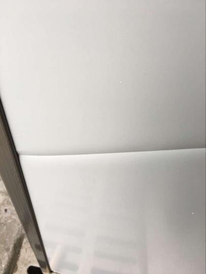 丽博士  白板 黑板 移动  架子 看板 办公 会议 教学 培训  磁性 写字板  书写 100*120cmN双面白板(含高档支架) 晒单图