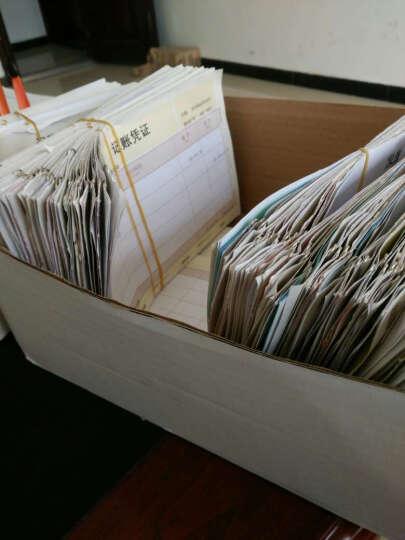 西玛(SIMAA)TR101S针打金额记账凭证纸 软件凭证打印纸 电脑打印纸凭证 配套封底封面分开 晒单图