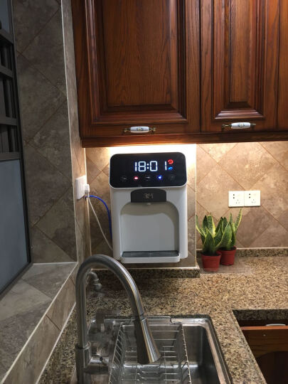 3M管线机冷热型HWS-CT-HC净水器伴侣壁挂式立式台式饮水机 可制冰水(16度) 晒单图