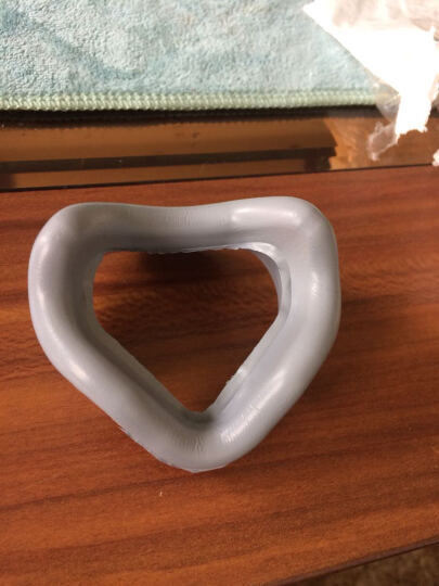 费雪派克呼吸机配件鼻罩 HC405/406/407鼻罩 呼吸机通用鼻罩 405配件=灰色衬垫 晒单图