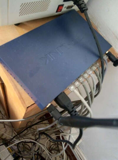 TP-LINK 普联   TL-WVR308  8口百兆有线300M无线VPN路由器 可设双WAN. 晒单图