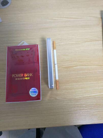 纽曼(Newmine)KC12 超薄双向快充18W功率TypeC 与Micro USB双输入 移动充电宝兼容QC/MTK 12000毫安 白色 晒单图