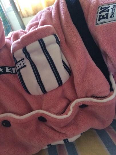 帕美琪睡衣女冬季法兰绒加厚珊瑚绒水貂绒女家居服秋长袖套装保暖 620 M码 150-163cm 80-100斤 晒单图