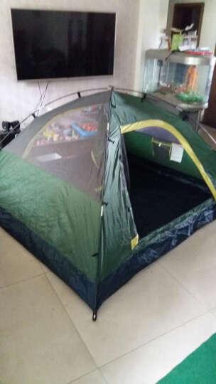 德国TAWA  全自动帐篷户外防雨野营双人双层免搭建3-4人野外露营帐篷套装 套餐4 晒单图