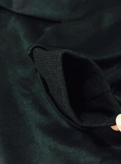 花花公子贵宾 卫衣男套装2017秋新款潮人时尚印花休闲运动外套棒球服 夏款薄款卫衣男 088红色短款 L 晒单图