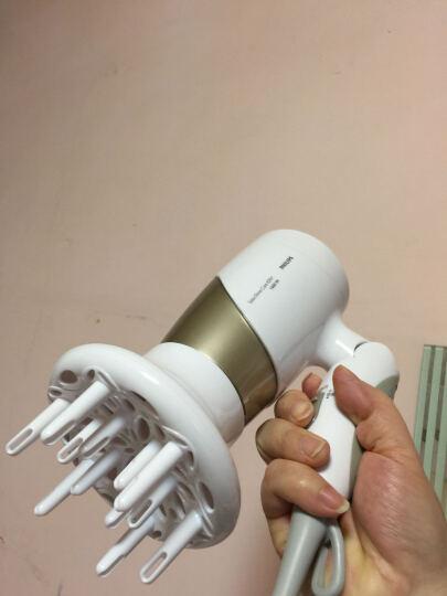 飞利浦(PHILIPS)电吹风机家用大功率恒温负离子锁水养护冷热风 (吹风机直发器洁肤仪挚爱奢宠礼盒套装) 晒单图