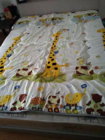 九洲鹿家纺 榻榻米可折叠学生加厚防滑印花床垫双人床褥垫子 长颈鹿-1.8x2m 晒单图