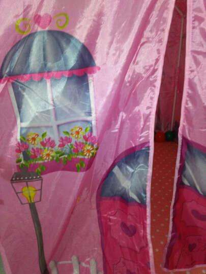 iPlay 儿童帐篷室内户外宝宝游戏屋男孩女孩家用玩具屋海洋球池公主屋包邮 送50个海洋球 学校教室8727+50球+爬行垫 晒单图